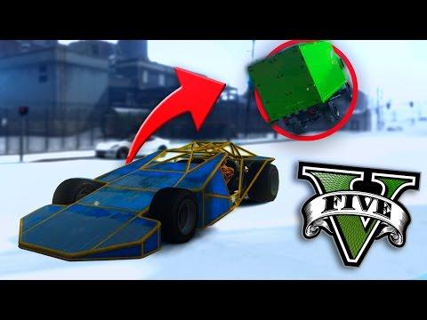 GTA V Online: AUTO-WYSKOCZNIA?!