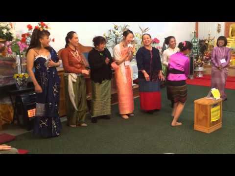 Thai Ladies' Costume Contest - Songkran 2014 @ Wat Thai of Minnesota