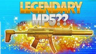 LEGENDARY MP5? (Fortnite Battle Royale)
