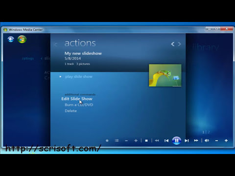 How to easily create a video slideshow with music and photos by using Windows Media Center