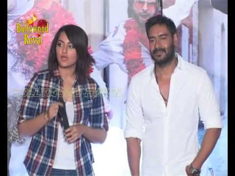 Sonakshi Sinha,Ajay Devgn,Himesh & Prabhudeva Launch Song 'Keeda' of 'Action Jackson'  3