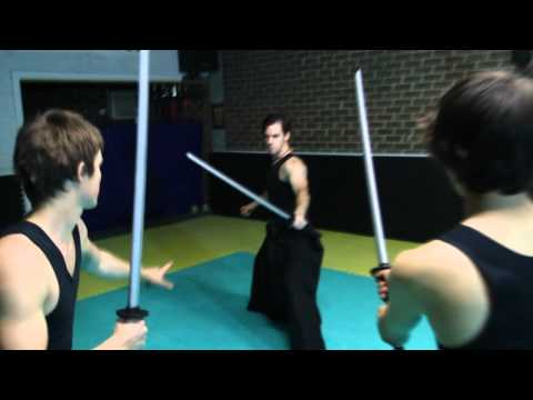 Katana Fight Chris Weir