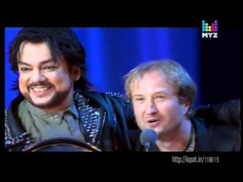 Филипп Киркоров на премия Муз-ТВ 2011