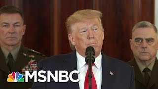 'Absolutely Insane': Trump Ally Blasts Trump, Dems Call Briefing A 'Joke' | MSNBC