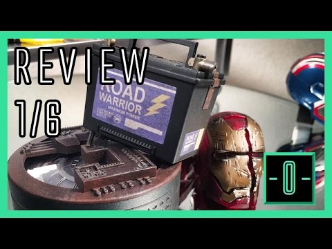 Hot Toys Iron Man 3 Workshop accessories set 1/6 review