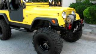1983 Jeep CJ-7 Street Legal Rock Crawler, 69 388CI Stroker, roller rockers, arb, detroit