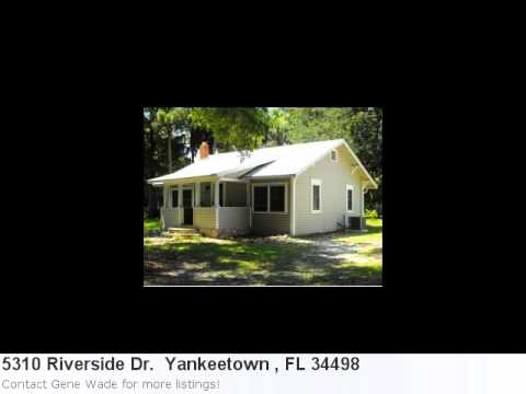 Homes For Sale In Yankeetown , Fl! Take A Peek At 5310 River