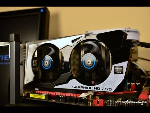 Sapphire HD7770 Vapor-X Unboxing + Written Review
