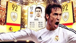 SHOULD YOU BUY PRIME ICON RAUL IN FIFA 19 ULTIMATE TEAM?