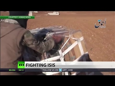 US sends weapons, supplies into the hands of ISIS