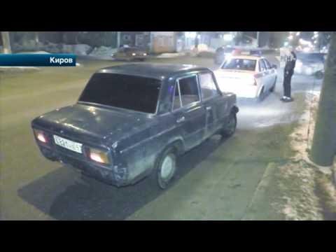 Автохамы во время погони издевались над автоинспекторами в Кирове