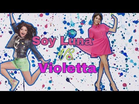 Виолетта VS Луна || Дуэль песен