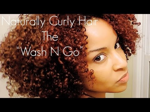 How To Achieve a flawless Wash N Go style on curly hair