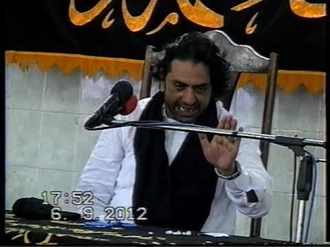 14 shawal ALLAMA NASIR ABBAS MULTAN talagang 2012