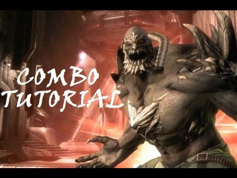 Injustice - Combo Tutorial - Doomsday (41% No Super)
