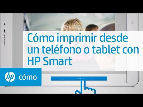 Cómo imprimir desde un teléfono o tablet con HP Smart   Impresoras HP   HP