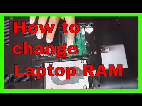 How to Change or Replace Laptop RAM at Home - Change Replace or Upgrade Your Laptop RAM