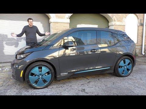 Представлен серийный компактный электромобиль BMW i3