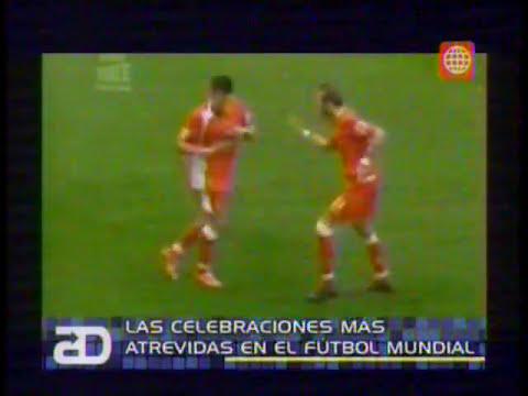 Las celebraciones más atrevidas en el fútbol mundial