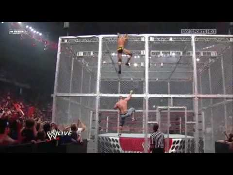John Cena & Randy Orton On Top Of Hell In A Cell thumbnail