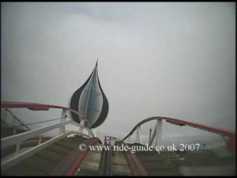 Big Dipper. Blackpool Pleasure Beach (POV)