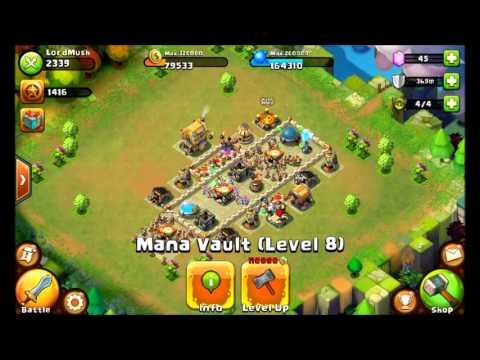Best Castle Clash Level 8 Town Hall