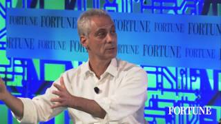 Fortune sits down with Rahm and Ari Emanuel
