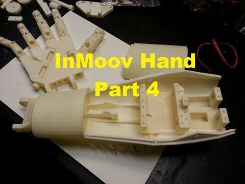DIY Humanoid Robot InMoov - Part 4