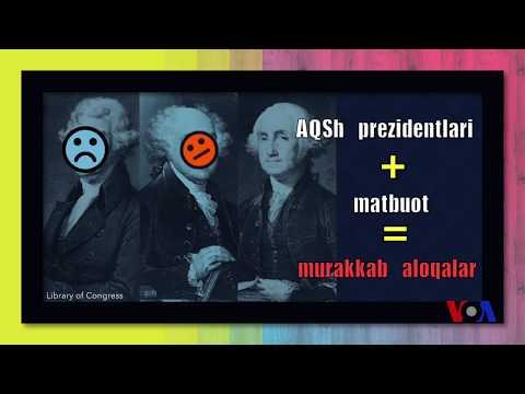 AQSh prezidentlari va matbuot: ziddiyatli aloqalar yangilik emas