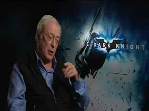 The Dark Knight - Michael Caine Exclusive Interview