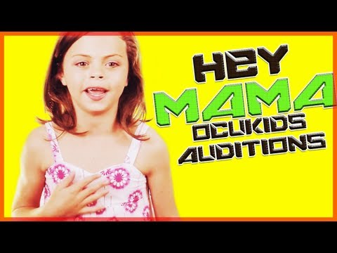 OCUKIDS Auditions - LILLY SINGING HAIRSPRAY HEY MAMA WELCOME TO THE 60s!