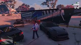FIVEM - S.A.R.P - RACENIGHT GOES BAD! - WRECKS AND MISHAPS