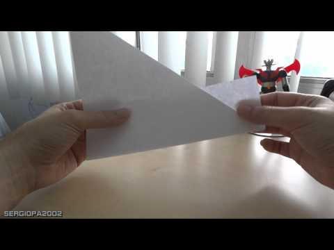 Como hacer un vaso con una hoja de papel normal sin goteo. Origami practico y fa