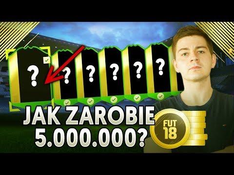 JAK ZAROBIĘ 5 000 000 COINSÓW NA CZYSTO?! NAJLEPSZY SPOSÓB NA ZARABIANIE?! | FIFA 18