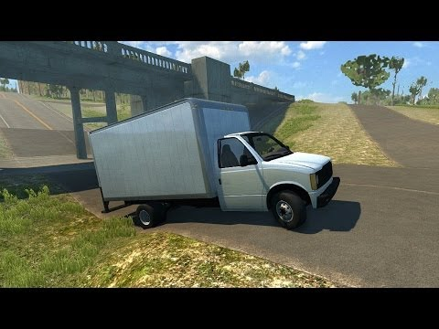 BeamNG DRIVE Alpha - Exploring the New England Country Side in the Gavril Cargo Box Van
