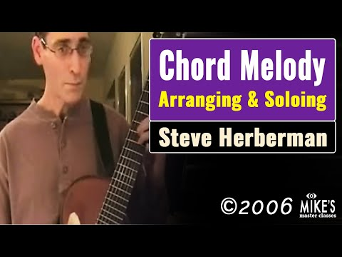 Chord Melody inspired by Van Eps