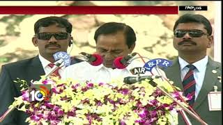 72th Independence Day Celebrations: CM KCR Golconda Speech Highlights
