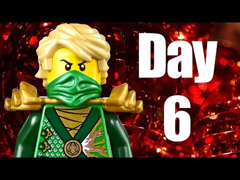 Custom LEGO Ninjago Advent Calendar 2013 Day 6 Review