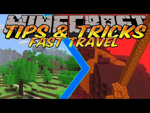 Minecraft Tips and Tricks: Nether Portals - How to travel fast using the Nether