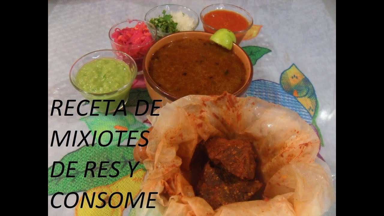 Image Result For Receta De Mixiotes De