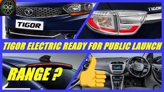 TATA tigor electric car update/tigor electric launch date and range.