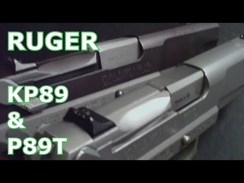 How To Disassemble Ruger P89 Disassembly & Assembly Field Strip First Person View KP89 P85 P91 P89T