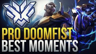 BEST PRO DOOMFIST MOMENTS - Overwatch Montage