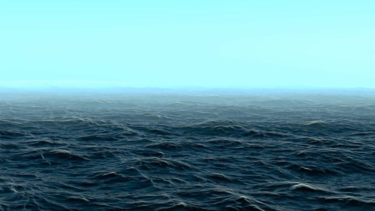 ночной океан обои на рабочий стол
