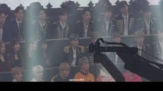 171231 BTS wannaone redvelvet reaction to Winner  MBC2017