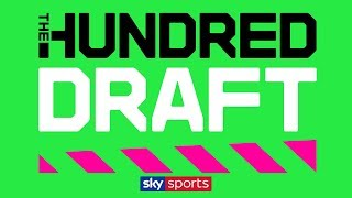 LIVE! The Hundred Draft | UK cricket's first EVER player draft!