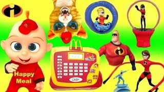 The Incredibles Full Set of McDonald's Happy Meal Toys