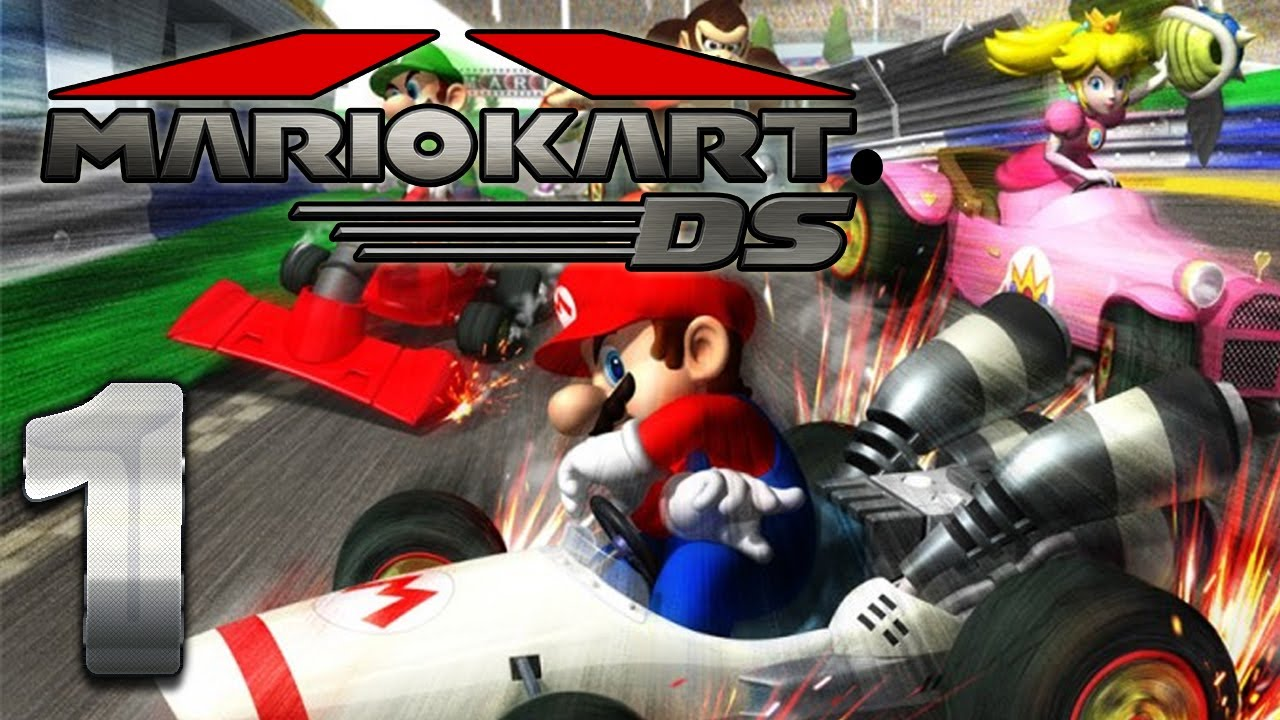 let 39 s play mario kart ds part 1 pilz cup 150ccm youtube. Black Bedroom Furniture Sets. Home Design Ideas