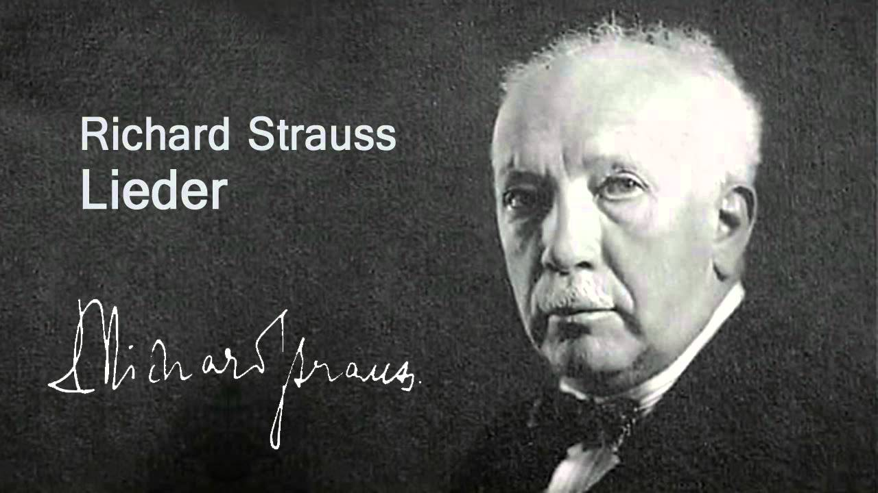richard strauss Richard strauss (1864–1949) was one of the most important composers of the  20th century he is particularly famed for his writing for the soprano voice, his.