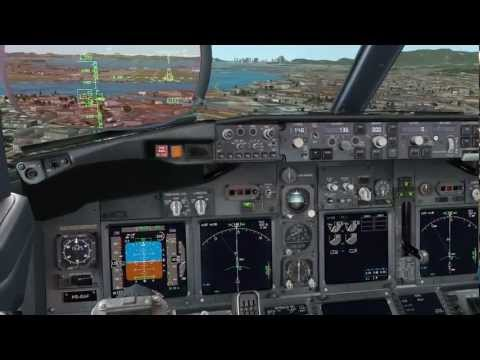 [HD] PMDG - 737NGX - Landing at SBGL   Intel Core i7-2600 3.40GHz + Radeon HD 6850
